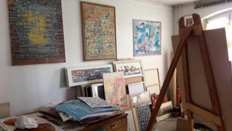 Atelier für Malerei und Grafik
